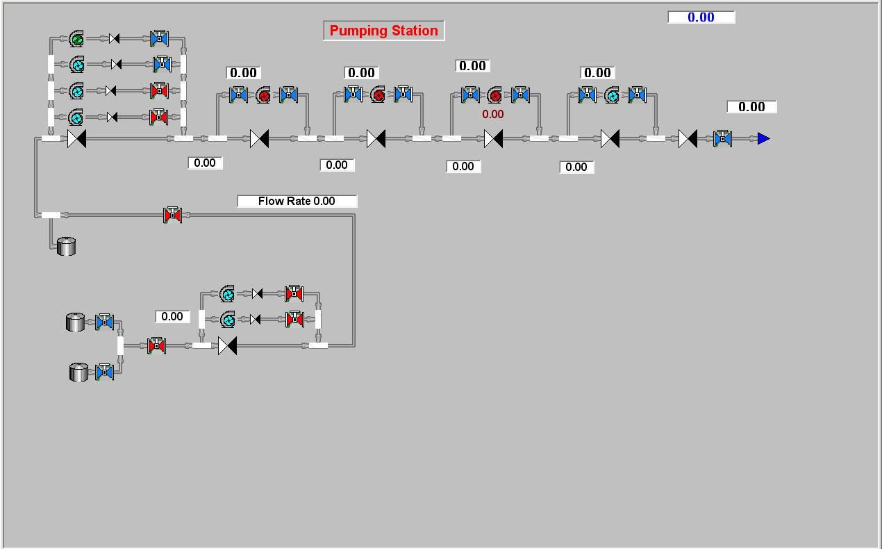 Расчетная гидравлическая схема